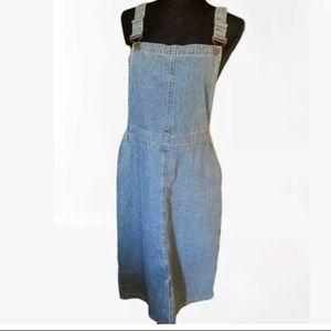New Look Denim Dress UK 14 EU 42 Long Coveralls